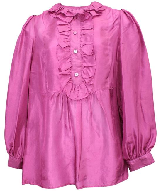 Marc Jacobs By Silk 0 Designer Clothing Fashion Top MULBERRY