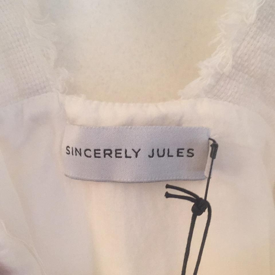 9eab822157 Sincerely Jules Ivory Jumper Short Casual Dress Size 0 (XS) - Tradesy