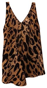 Diane von Furstenberg Top Animal print