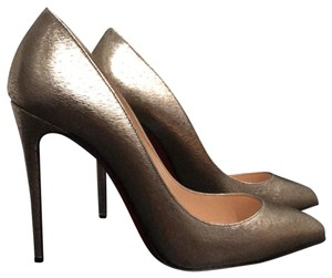 7f34b7518e4 Gold Christian Louboutin Pumps 5.5 Up to 90% off at Tradesy
