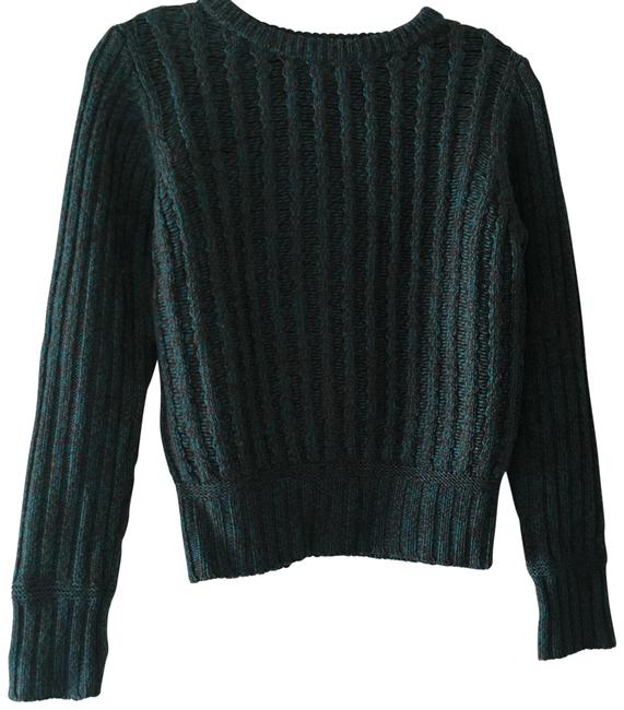 Preload https://img-static.tradesy.com/item/22501662/carven-cropped-cable-green-sweater-0-1-650-650.jpg