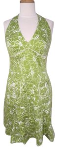 Laundry by Shelli Segal short dress Halter Summer Floral Mini Knee Length on Tradesy