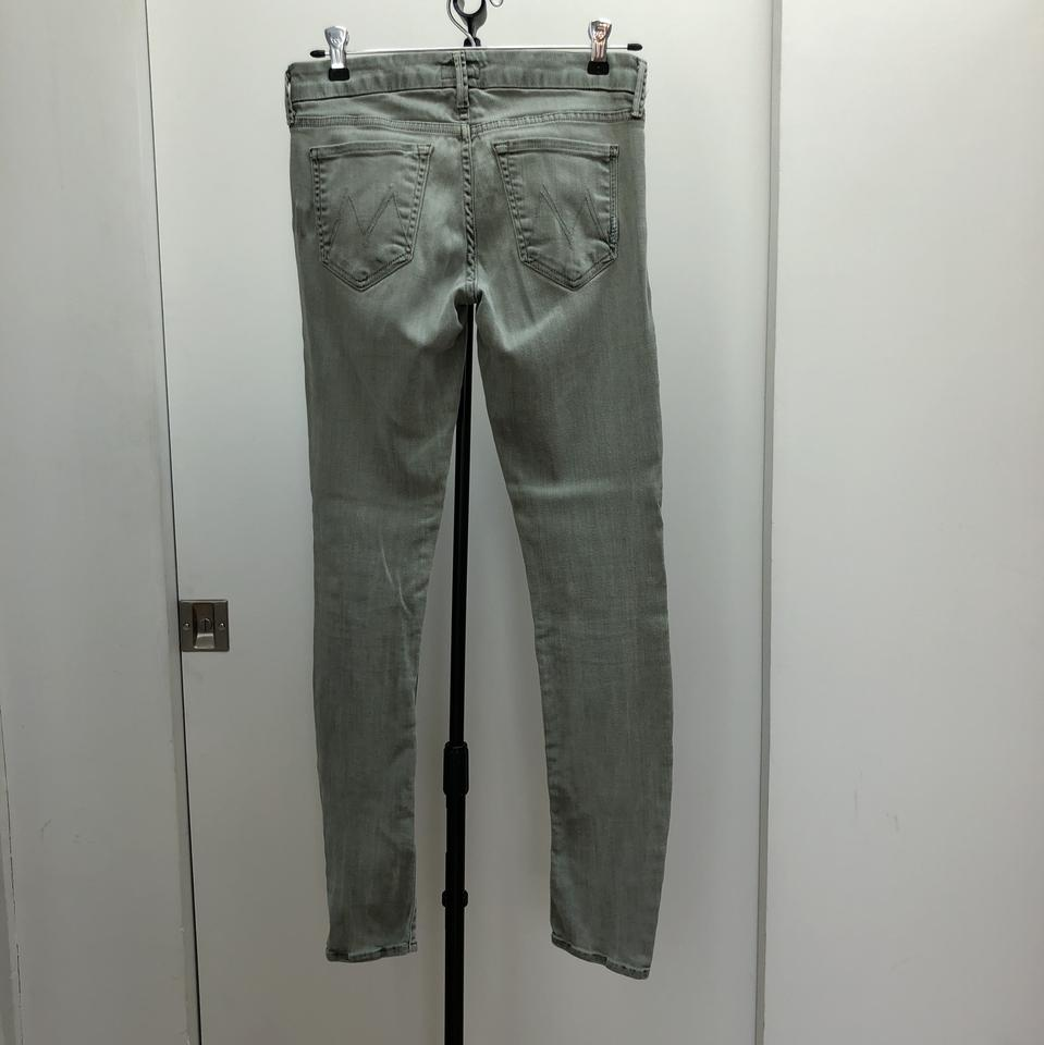 Fantasy Forest Pop Skinny Mother Green Jeans The In Looker qgYBnwx