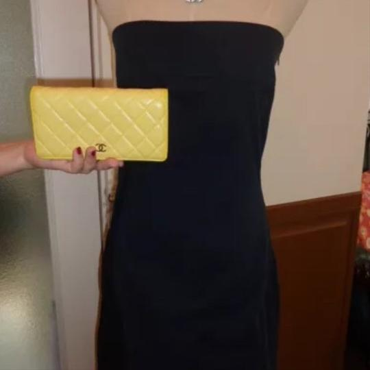 Chanel Chanel quilted Materasse Yellow Wallet Image 2