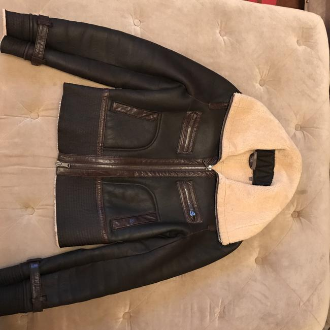 Vince Fitted Motorcycle Jacket
