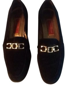 Cole Haan Black with gold hardware Flats