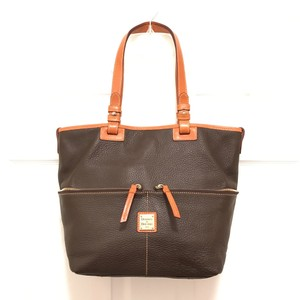 Dooney & Bourke Purse Satchel Shoulder Weekend/Travel Tote in Brown Tan