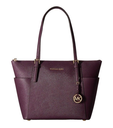 1c40dd4478ec Michael Kors Saffiano Tote Damson | Stanford Center for Opportunity ...