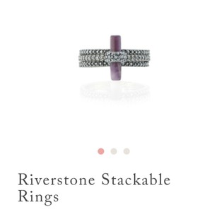 Chloe + Isabel Riverstone Stackable Rings