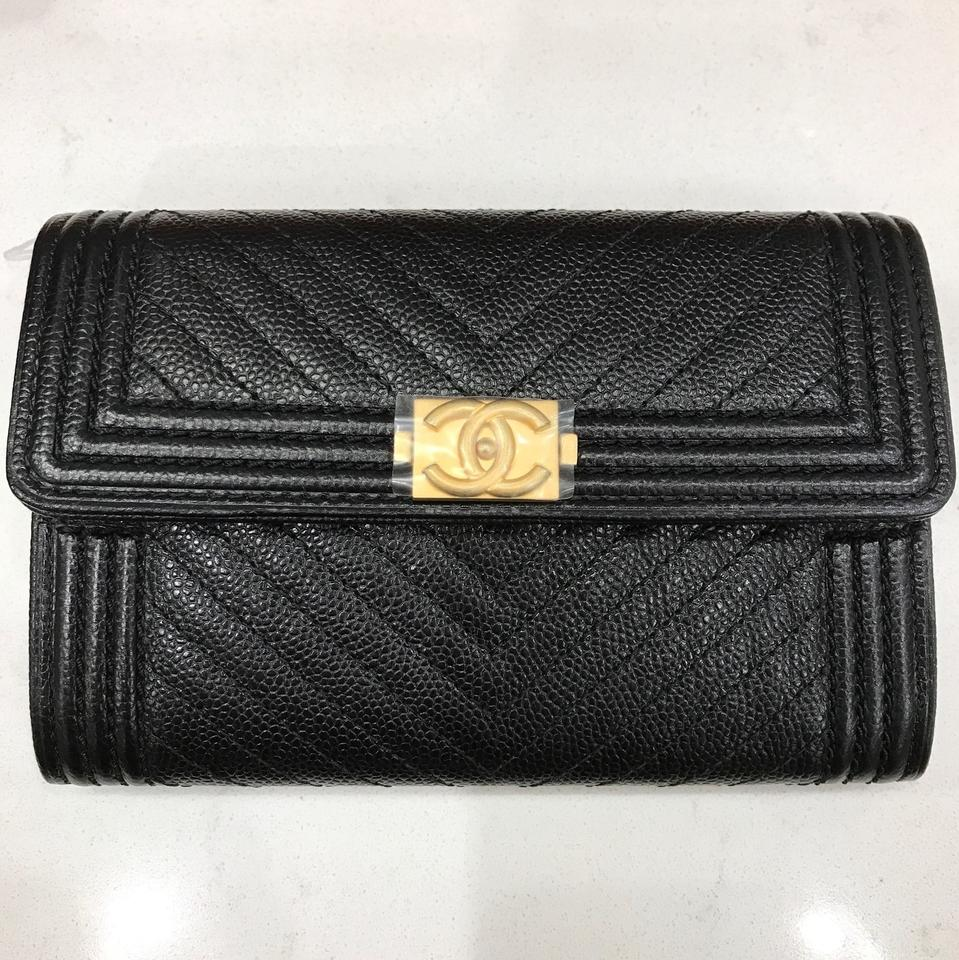 5369bf0a49f6 Boy Chanel Flap Wallet Black | Mount Mercy University