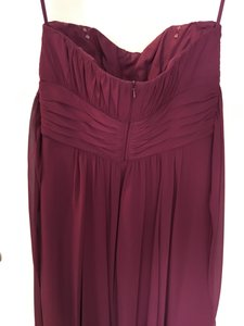 Alexia Designs Plum Polyester Style 2976 Formal Bridesmaid/Mob Dress Size 6 (S)