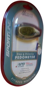 Sportline Sportline Step and Distance Pedometer Fitness Walking