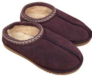UGG Australia Uggs Slippers Shearling raisin purple Mules