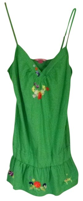 PINK Flirty green Swim Cover-up