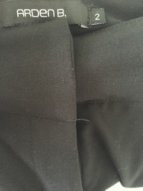 Arden B Wide Leg Business Professional Trouser Pants Black