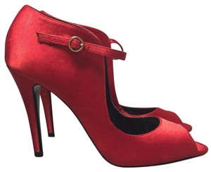 KG Kurt Geiger Satin Classic Party Red Formal
