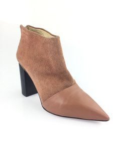 See by Chloé Leather Suede Caramel Boots