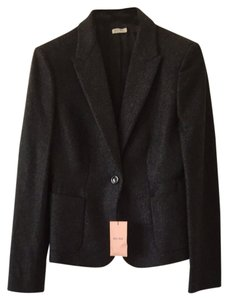Miu Miu Dark Grey Blazer