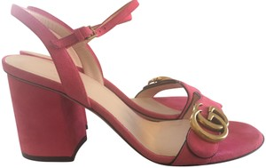 Gucci Marmont Marmont Marmont Pink Sandals