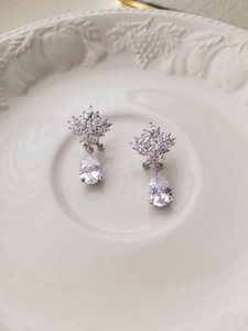 Silver Elyse Earrings