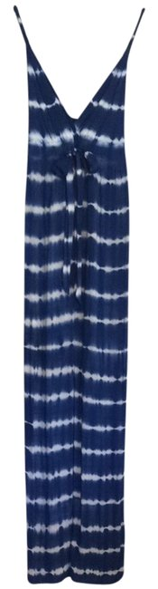 Navy & White Maxi Dress by Tart Collections