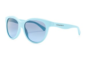Dolce&Gabbana NWT MATT SILK SMALL SZ Unisex CAT EYE AQUA+GREY DG 4176 2586