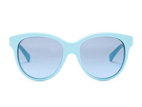 Dolce&Gabbana NWT MATT SILK SMALL SZ Unisex CAT EYE AQUA+GREY DG 4176 2586 Image 2
