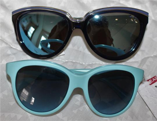 Dolce&Gabbana NWT MATT SILK SMALL SZ Unisex CAT EYE AQUA+GREY DG 4176 2586 Image 8