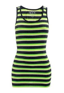 Body Central Striped Top Multi