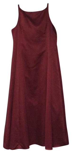 Item - Raspberry Red Gown Long Formal Dress Size 22 (Plus 2x)
