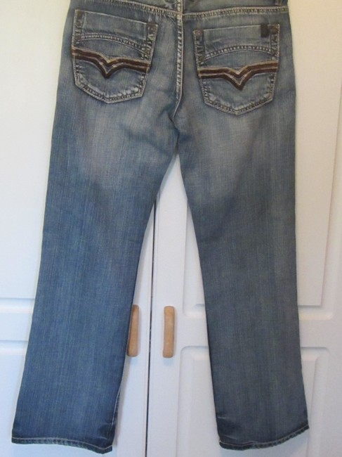 Buffalo David Bitton Boyfriend Cut Jeans-Medium Wash