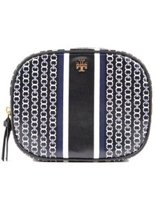 Tory Burch NEW Tory Burch Gemini link Logo Cosmetic Case makeup bag Pouch
