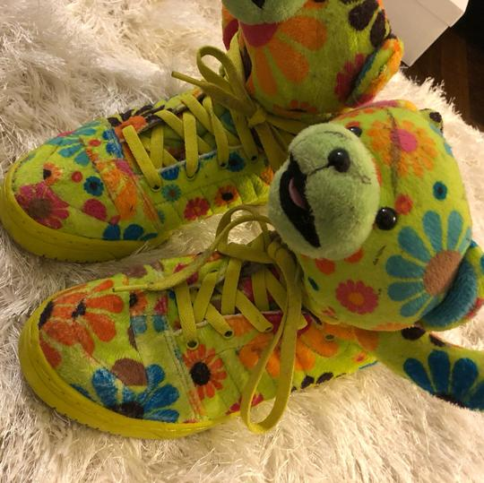 Adidas By Jeremy Scott green Athletic