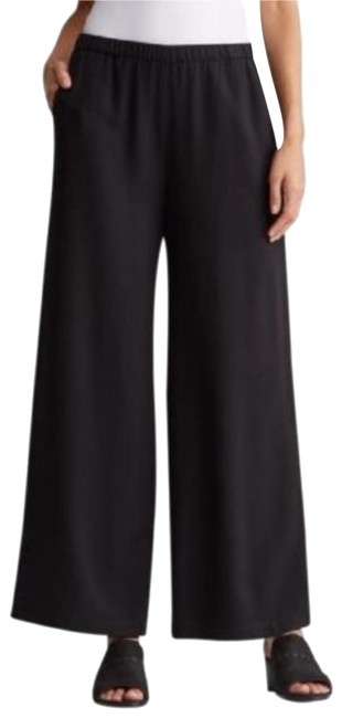 Preload https://img-static.tradesy.com/item/22505716/eileen-fisher-black-wide-leg-pants-size-6-s-28-0-2-650-650.jpg