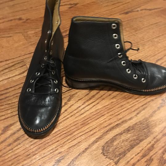 Calleen Cordero Black with silver hardware. Boots