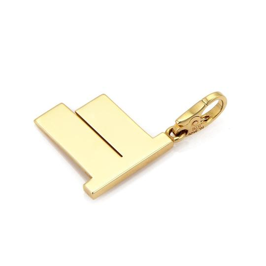 Cartier Diamond 18k Yellow Gold 52nd Street Sign Charm Pendant Image 3