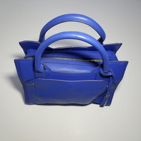 Vince Camuto Top Handle Kylie Convertible Satchel in Blue