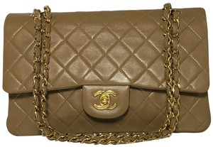 Chanel Matelasse Flap Double Flap Lambskin Flap Shoulder Bag