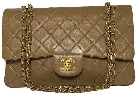 Preload https://img-static.tradesy.com/item/22505883/chanel-matelasse-medium-double-flap-in-tan-light-brown-lambskin-leather-shoulder-bag-0-8-540-540.jpg
