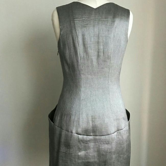 Theory short dress Silver on Tradesy
