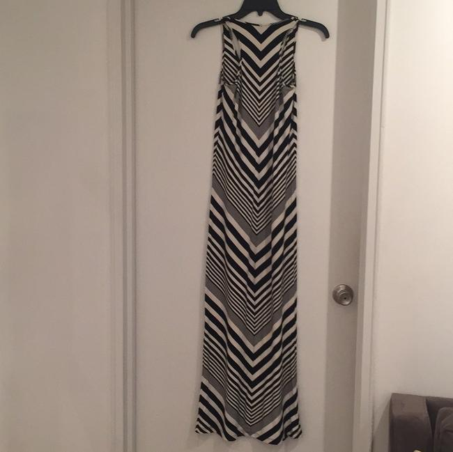 black/ white Maxi Dress by Torn by Ronny Kobo