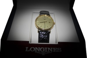 Longines Longines Presence Leather Mens Watch