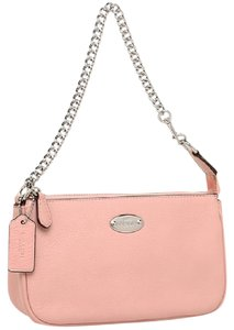 Preload https://item5.tradesy.com/images/coach-silverblush-large-wristlet-19-in-pebble-leather-chain-wallet-22506154-0-1.jpg?width=440&height=440