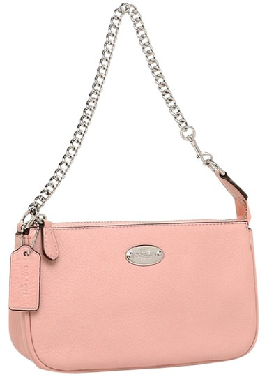 Preload https://img-static.tradesy.com/item/22506154/coach-silverblush-large-wristlet-19-in-pebble-leather-chain-wallet-0-1-540-540.jpg