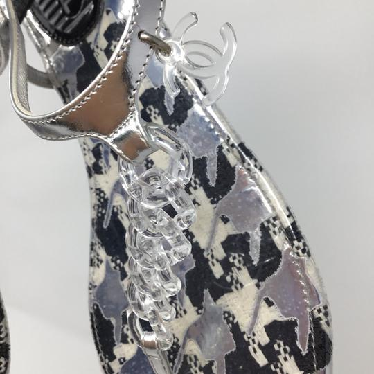 Chanel clear Sandals