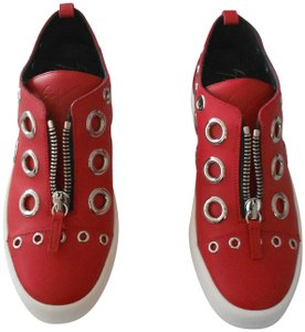 Giuseppe Zanotti Fashion Forward Women's Sneaker Made In Italy Red Athletic