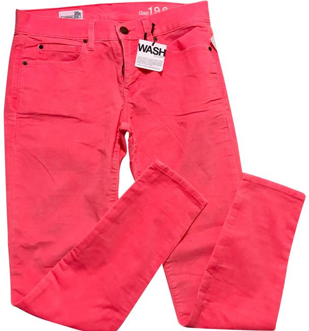 Preload https://item2.tradesy.com/images/gap-neon-pink-corduroy-jeggings-skinny-jeans-size-26-2-xs-22506216-0-1.jpg?width=400&height=650