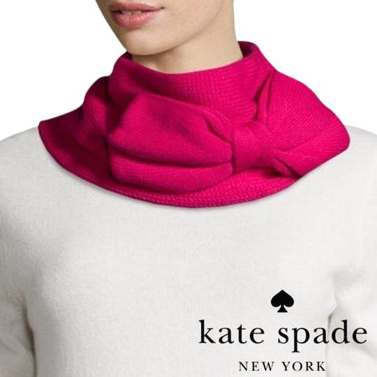 Preload https://item1.tradesy.com/images/kate-spade-pink-gather-bow-neckwarmer-with-gift-box-scarfwrap-22506295-0-1.jpg?width=440&height=440