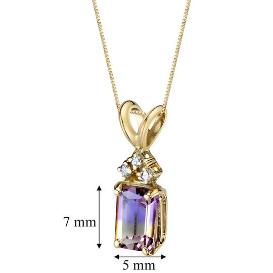 Other 14K Ametrine Pendant