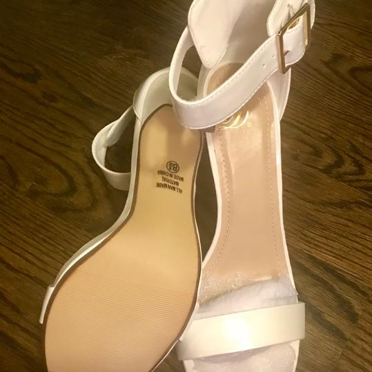My Delicious Shoes white Formal